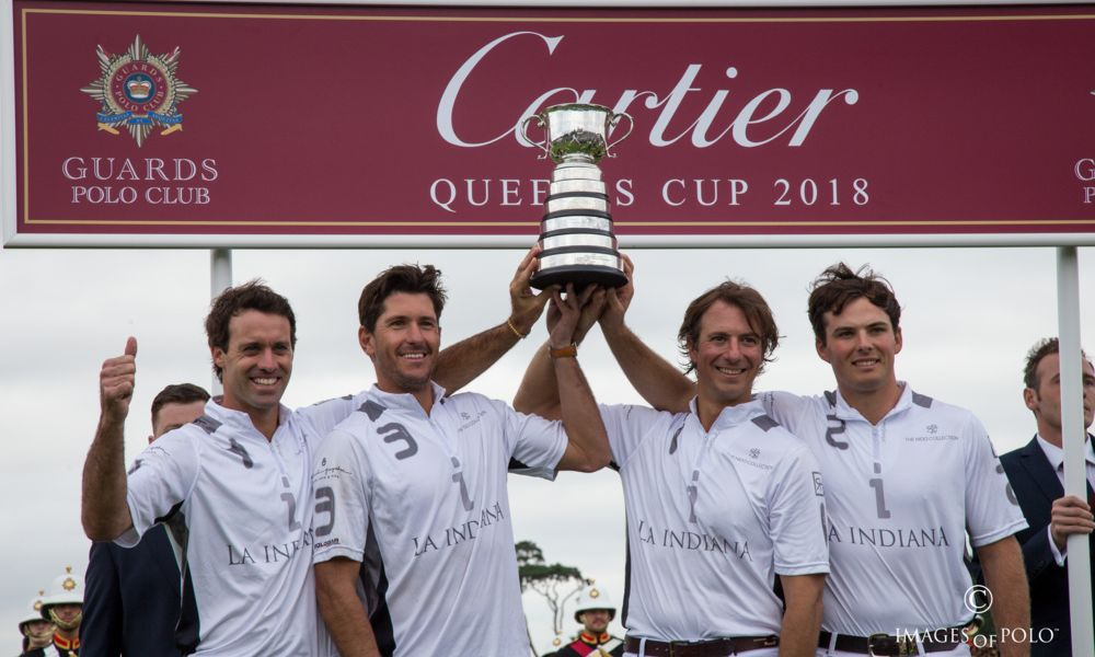 Queens Cup Polo Finals winners