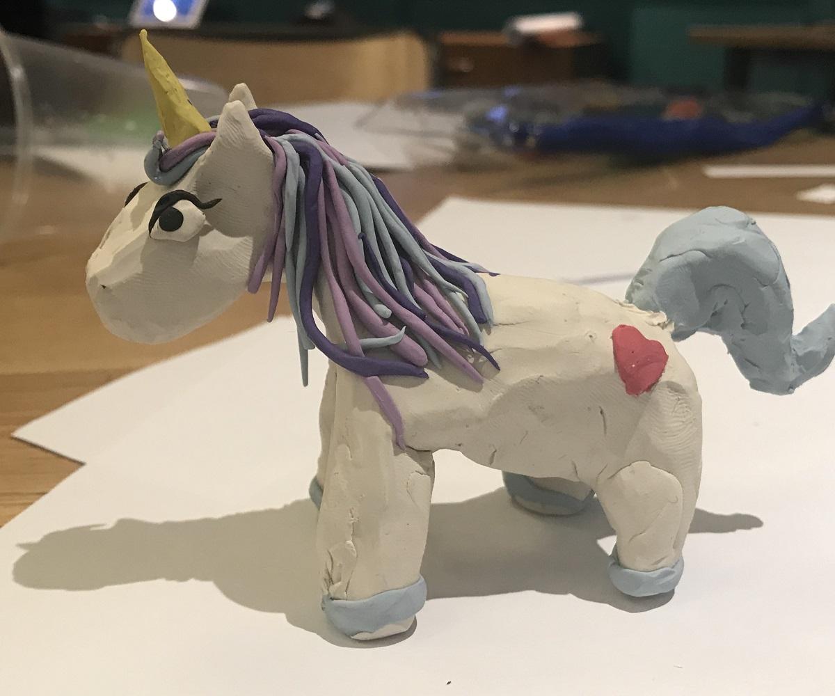 indoor team building unicorn