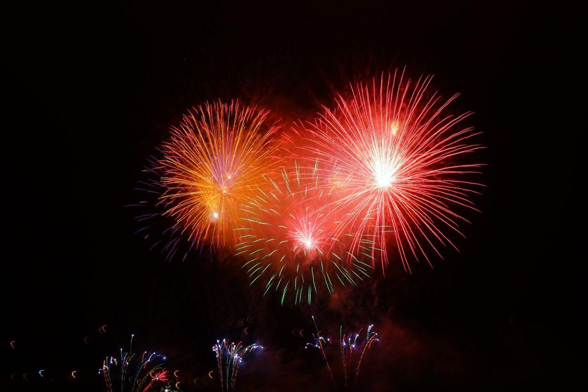 Cowes Week Fireworks