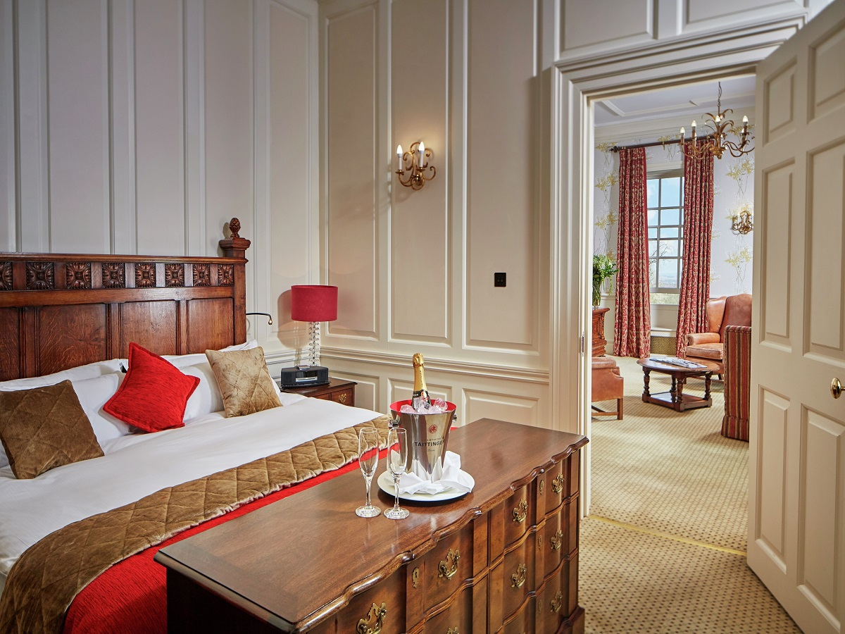 Lainston house hotel luxury suite