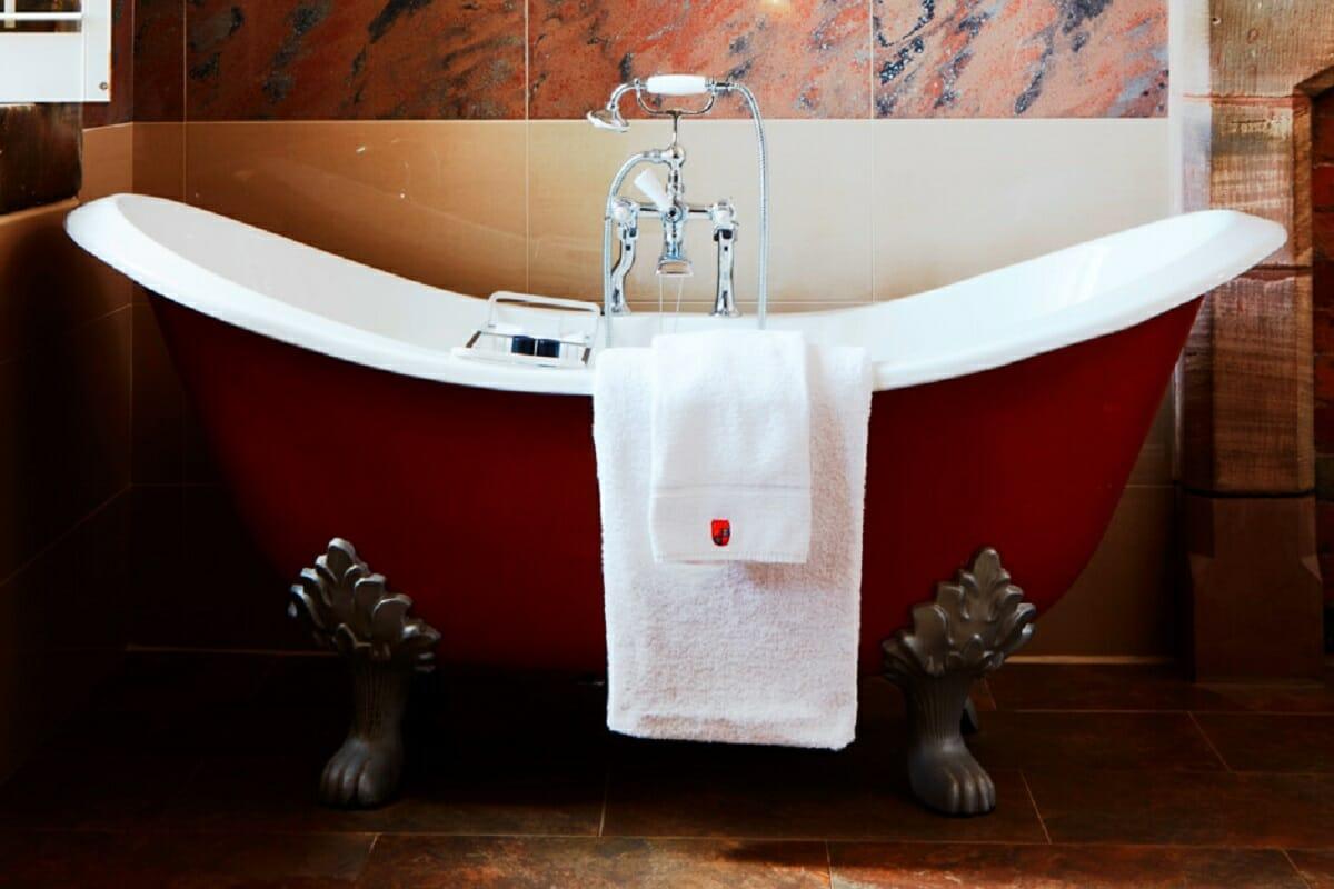 Peckforton Castle bath