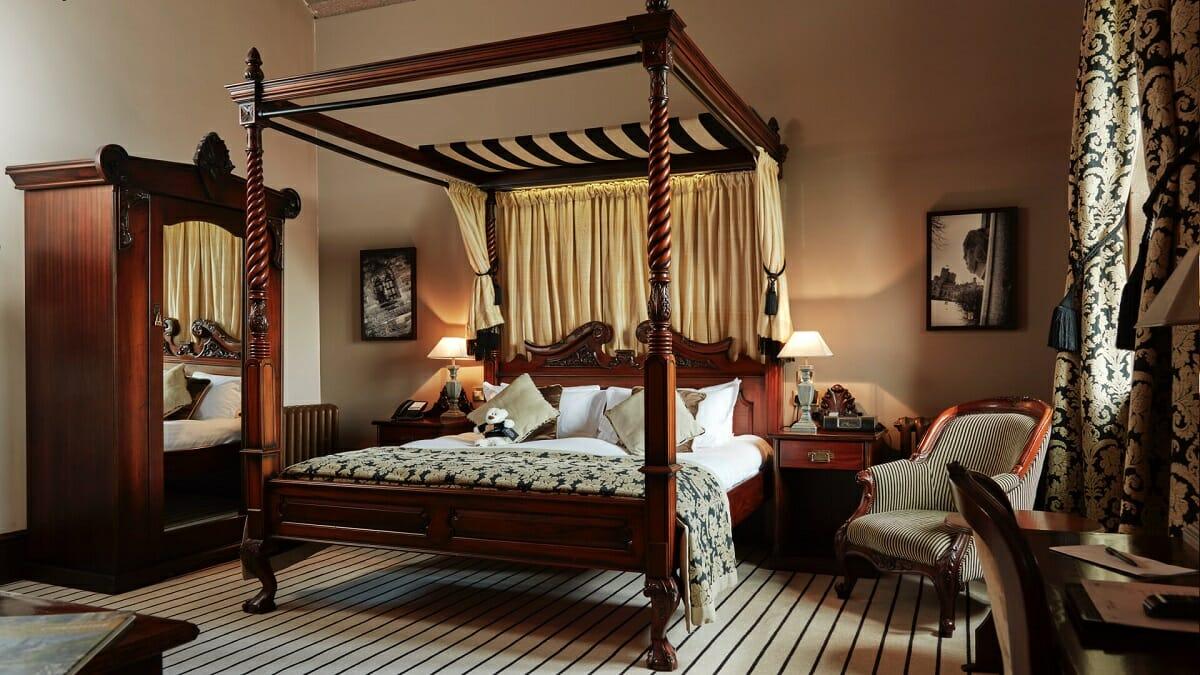 Peckforton Castle suite