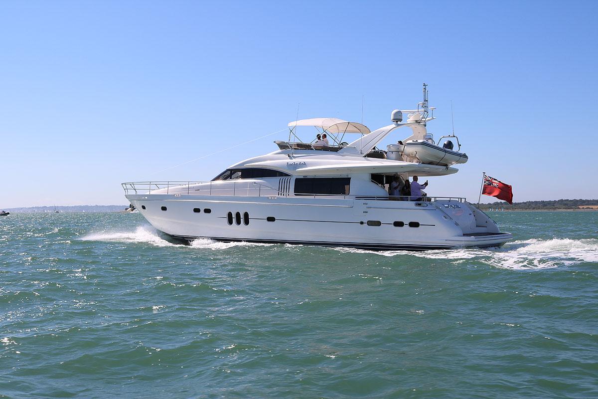 Cowes Week Super Yacht Hospitality